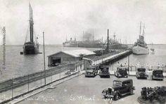Quai de Port-au-Prince en 1930