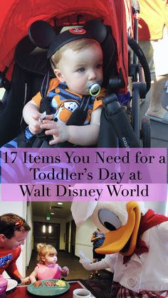 17 Items You Need for a Toddler's Day at Walt Disney World