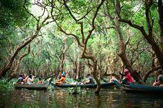I wanna go here. FLOATING VILLAGE SIEM REAP CAMBODIA