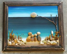 Pebble Art Rock Art Pebble Art Family Rock Art by CrawfordBunch