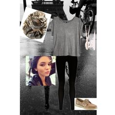 """""""Casual rainy day outfit"""" by polyvore"""