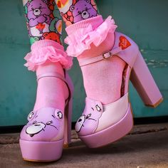 Welcome to Attitude Clothing, Your One-Stop Shop For All Things Alternative Clothing & Alternative Fashion! Pastel Goth Fashion, Kawaii Fashion, Cute Fashion, Fashion Couple, Petite Fashion, Dream Shoes, Crazy Shoes, Me Too Shoes, Kawaii Shoes