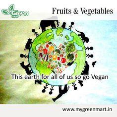 This earth for all of us so go Vegan. #Vegan #Earth #People #Vegetarian