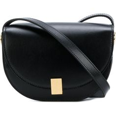 Victoria Beckham contrast satchel (€1.010) ❤ liked on Polyvore featuring bags, handbags, black, handbag satchel, victoria beckham, satchel handbags, satchel style handbag and satchel style purse