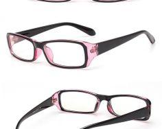 Okuliare na prácu s počítačom v čierno-ružovej farbe