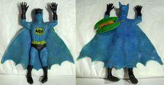1973 Batman flying rubber jiggler by Ben Cooper