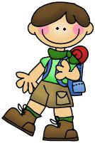 camper kid clipart | Welcome to the Camping Kids Collection from ThistleGirl Designs!