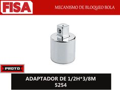 ADAPTADORES J5254. Mecanismo de bloqueo bola- FERRETERIA INDUSTRIAL -FISA S.A.S Carrera 25 # 17 - 64 Teléfono: 201 05 55 www.fisa.com.co/ Twitter:@FISA_Colombia Facebook: Ferreteria Industrial FISA Colombia