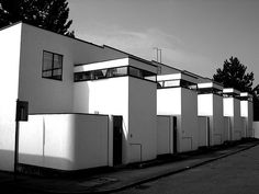 weissenhof di Stoccarda - House 5-9: Jacobus Johannes Pieter Oud