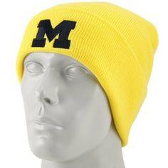 adidas Michigan Wolverines Maize Basics Classic Cuffed Knit Beanie by  adidas.  9.95. Imported. Rib-knit beanie. Embroidered adidas logo. 0826fcb85266