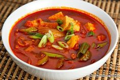 I was searching the web for recipes that used kimchi and I found several for Kimchi Jjigae or kimchi stew. The main recipes that I found were for pork and kimchi stew. Best Soup Recipes, Fall Recipes, Asian Recipes, Snack Recipes, Favorite Recipes, Ethnic Recipes, Oriental Recipes, Ninja Recipes, Pork Recipes