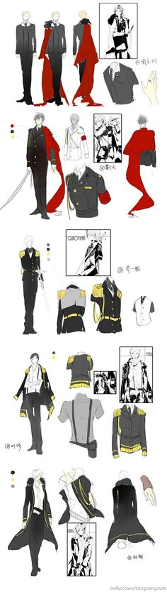 Possible Captain outfits .o.