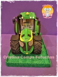 Cristina Camps Fofuchas: Tractor goma eva