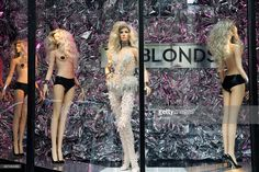 An exterior view of the Rootstein store during Rootstein Presents: Phillipe Blond - 'The Blonds Collection - A Retrospective' at 205 West 19th Street on September 9, 2015 in New York City.
