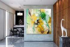 Items similar to Large Modern Wall Art Painting,Large Abstract wall art,texture art painting,colorful abstract,office wall art on Etsy Large Abstract Wall Art, Large Canvas Art, Colorful Wall Art, Canvas Wall Art, Gold Canvas, Canvas Canvas, Acrylic Canvas, Large Art, Bright Paintings