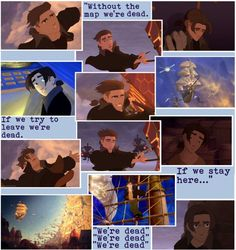 """Treasure planet 3"" by alltimeinsane-slytherinmybedplzz ❤ liked on Polyvore"