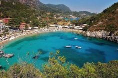 Paleokastritsa, Corfu. Best beach ever! Laid right there, and paddled through those gorgeous waters. @Natalie Jost Rigg
