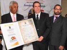 Autoridades de Jarabacoa reconocen al ministro de Turismo