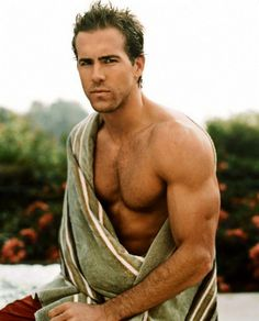 Everyday's a Ryan day....x  #Hot #Hunk #Sexy #Delicious #RyanReynolds #Fit #Celebrity #Male #Missguided