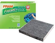 Buy FRAM Fresh Breeze Cabin Air Filter with Arm & Hammer, Fram, nobrandname, Automotive Dust Filter, Oil Filter, Arm And Hammer Baking Soda, Honda Cars, Ventilation System, Air Pollution, Breeze, Improve Yourself, Cabin