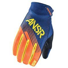 2015 Answer Syncron Kids Gloves - Orange Yellow Size Large - 7