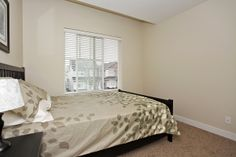 Modern, bright upstairs bedroom