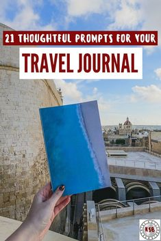 Take your travel journal entries from a simple play by play to an insightful reflection with these prompts. Travel With Kids, Family Travel, Journal Prompts, Journal Entries, Journal Ideas, Travel Guides, Travel Tips, Travel Stuff, European Destination