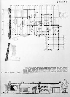 """LUIS LAORGA: casa propia en """"Los Peñascales"""" (Torrelodones, 1953)"""