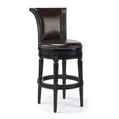 "Manchester Swivel Bar Height Bar Stool (30""H seat)"