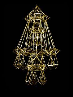 Handmade Ornaments, Scandinavian Christmas, Geometric Shapes, Diy Art, Handicraft, Straws, Xmas, Crafts, Craft