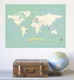 My Travels World Map