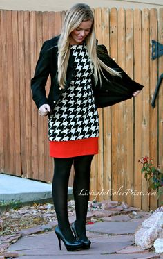 I tend to like classic patterns like polka dots and houndstooth more than floral.