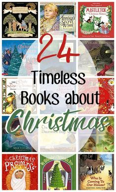 24 Days of Christmas Books for Advent perfect for grade school, kindergarten and preschool. Give one a day leading up to the holidays.