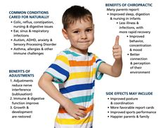 Benefits of #Chiropractic for the Children!  Don't let #parents underestimate the importance of #PediatricChiropractic.  #GetAdjusted  #SubluxationFree #wellness