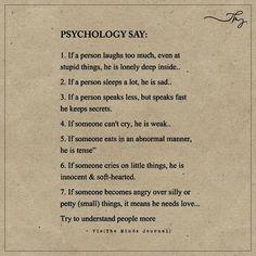 Psychology Say: - https://themindsjournal.com/psychology-say/
