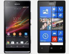Vergelijking Sony Xperia SP vs Nokia Lumia 520 | Versus OS