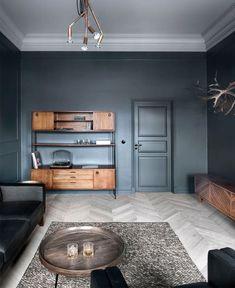 Scandi Style Inspired 19th-Century City House Design - InteriorZine