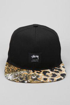 Stussy Wildlife Snapback Hat