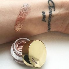 Tarte Cosmetics • SNEAK PEEK • Tarte Clay Pot in ROSE GOLD • Wowwie Wow!! Coming soon!