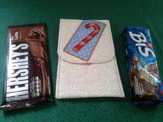 Porta Chocolate motivo Natalino. <br>Excelente opção para presentear!