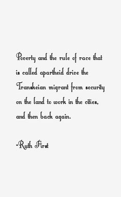 ruth first quotes - Google Search