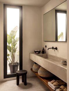 Simple Bathroom, Modern Bathroom, Bathroom Ideas, Bathroom Designs, Bathroom Organization, Minimalist Bathroom Design, Natural Bathroom, Minimal Bathroom, Bathroom Trends