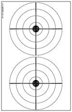 Download and Print PDF file of Smallbore Rifle Targets for