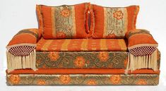 Transform your space into a rocking casbah with this moroccan sofa, great quality fabric. One of the most popular theme. Moroccan design combines the best of moorish and european influences to form a beautiful union of architecture and style.