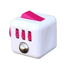 MARIAN Fidget Stress Relieves Cube Anxiety Relax Toy for Children and Adults(Pink)