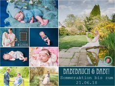 Babybauchfotos und Babyfotos zum Aktionspreis!