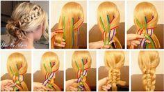 Najbardziej popularne znaczniki tego obrazu obejmują: hair, hairstyle, diy i tutorial