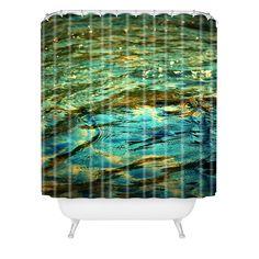 Krista Glavich Ripples Shower Curtain | DENY Designs Home Accessories