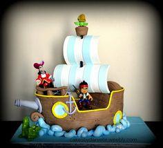 Jake and the Neverland Pirates  Cake by CBD