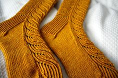Marlene Socks 1 by serendipity knit, via Flickr/ Cookie A pattern